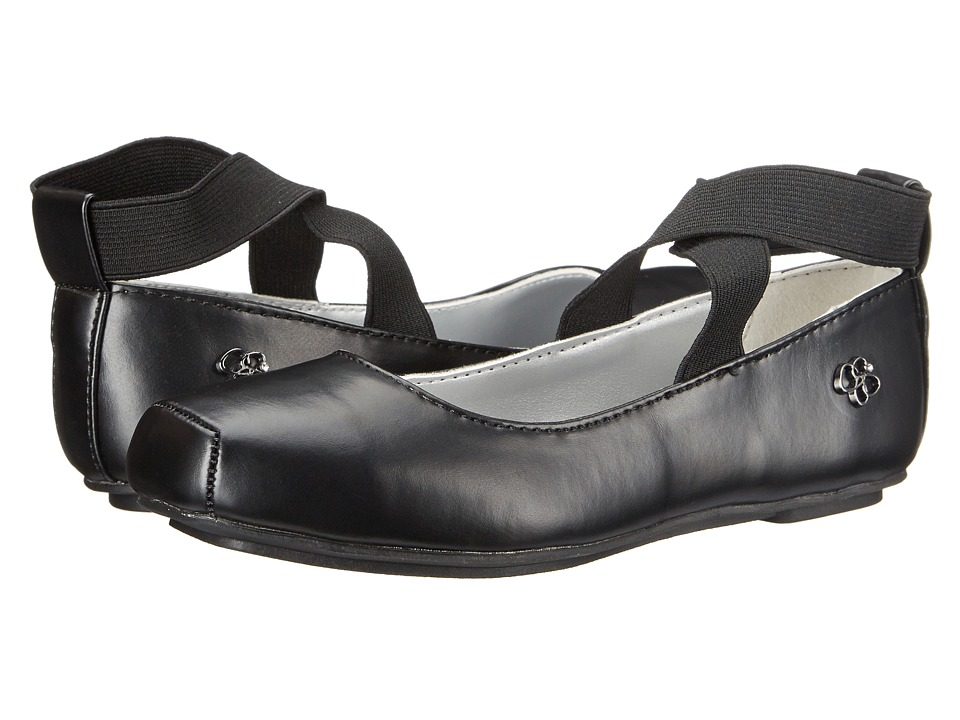 Jessica Simpson Kids Madison (Little Kid/Big Kid) (Black) Girls Shoes