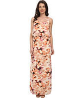 Jessica Howard - Sleeveless Popover Maxi Dress