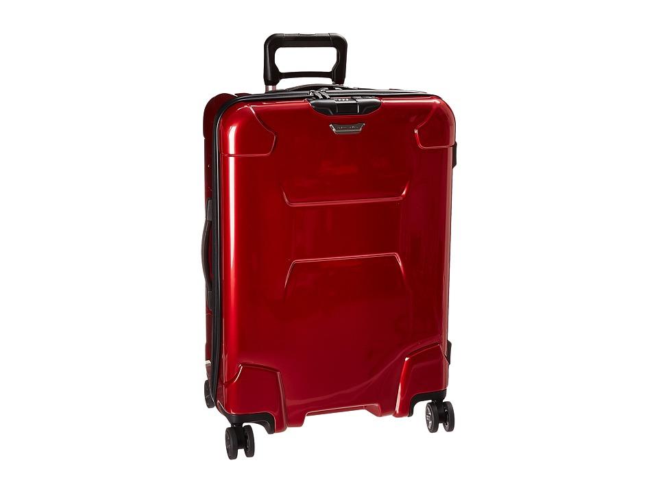 Briggs amp Riley TORQ Medium Spinner Ruby Luggage