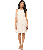 Jessica Howard - Sleeveless Meitered Trap Dress
