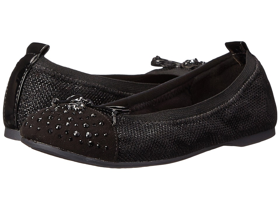 Jessica Simpson Kids Lyric (Little Kid/Big Kid) (Black Lurex) Girl's Shoes