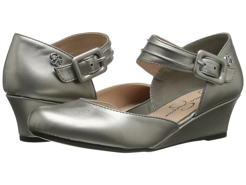 Jessica Simpson Kids Tatiana Little Kid/Big Kid Pewter Girls Shoes