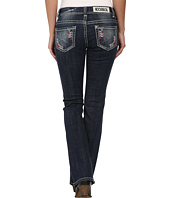 Rock and Roll Cowgirl - Low Rise Bootcut in Dark Vintage W6-3634