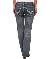 Rock and Roll Cowgirl - Riding Bootcut in Medium Wash W7-3643
