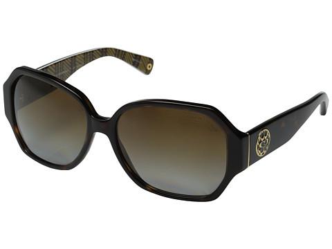 Coach蔻驰Melissa女款时尚防紫外太阳镜,100%保护眼睛