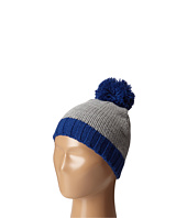 San Diego Hat Company Kids - KNK3449 Knit Beanie with Contrast Pom Pom and Cuff (Little Kids)