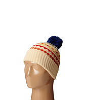 San Diego Hat Company Kids - KNK3463 Oversized Navajo Intarsia Beanie with Pom Pom (Little Kids/Big Kids)