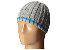 San Diego Hat Company Kids KNK3457 Cable Knit Beanie with Color Contrast Stripe