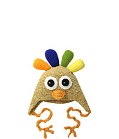 San Diego Hat Company Kids - DL2526 Hand Crochet Turkey Hat (Infant/Toddler/Little Kids)