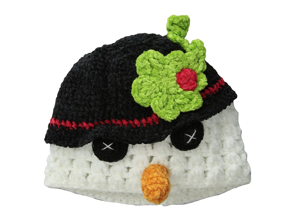 San Diego Hat Company Kids DL2530 Hand Crochet Snowman Hat Infant/Toddler/Little Kids Snowman Caps