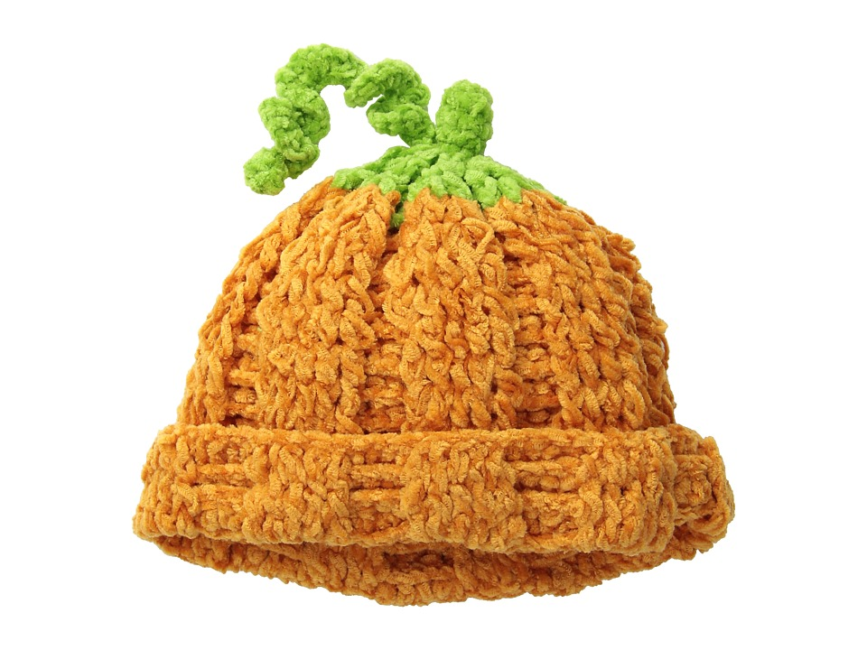 San Diego Hat Company Kids DL2522 Hand Crochet Pumpkin Hat Infant/Toddler/Little Kids Pumpkin Caps