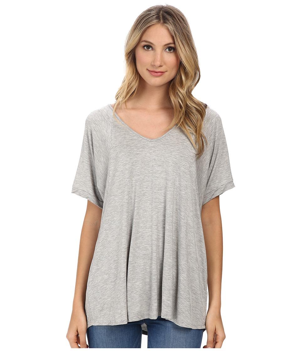 Culture Phit Viola Modal Short Sleeve Top (Heather Grey) Women