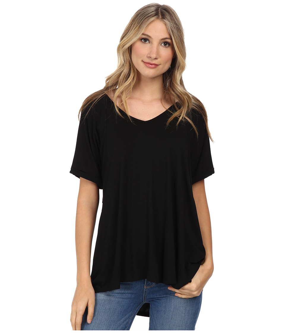 Culture Phit Viola Modal Short Sleeve Top (Black) Women