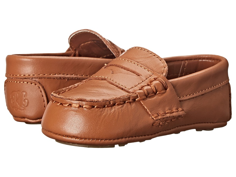 Polo Ralph Lauren Kids - Tellie (Infant/Toddler) (Tan) Kids Shoes
