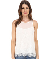 Sam Edelman - Lace Zip Back Top