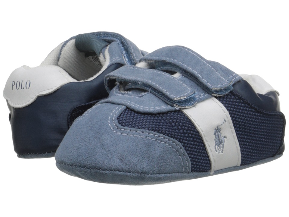 Polo Ralph Lauren Kids - Duma EZ (Infant/Toddler) (Blue) Boys Shoes