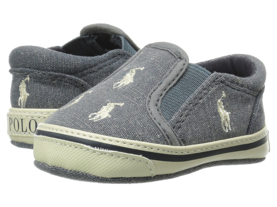 Ralph Lauren Layette Kids Bal Harbour Repeat Infant/Toddler Blue Boys Shoes