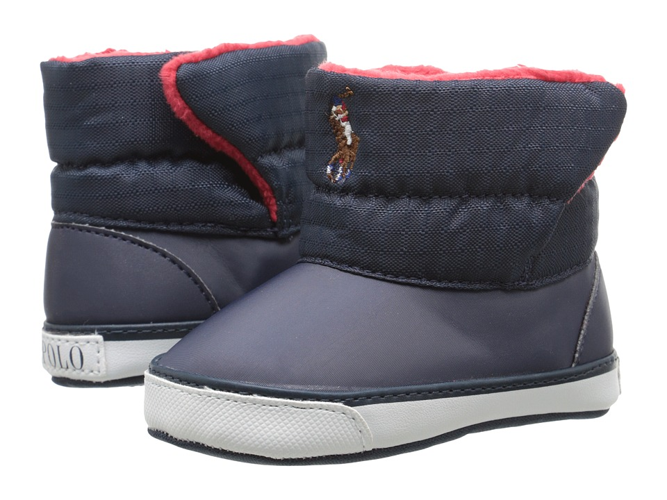Ralph Lauren Layette Kids - Damien (Infant/Toddler) (Navy) Boys Shoes