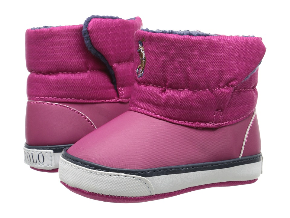 Ralph Lauren Layette Kids - Damien (Infant/Toddler) (Pink) Girls Shoes