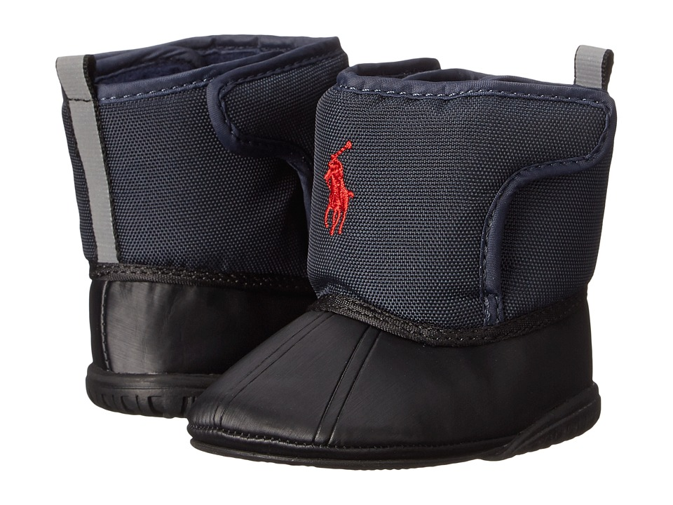 Ralph Lauren Layette Kids - Hamilten EZ (Infant/Toddler) (Navy) Boys Shoes