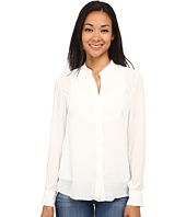 Sam Edelman - Pleated Bib Blouse