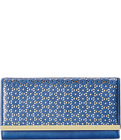 Jessica McClintock - Perforated Bar Clutch