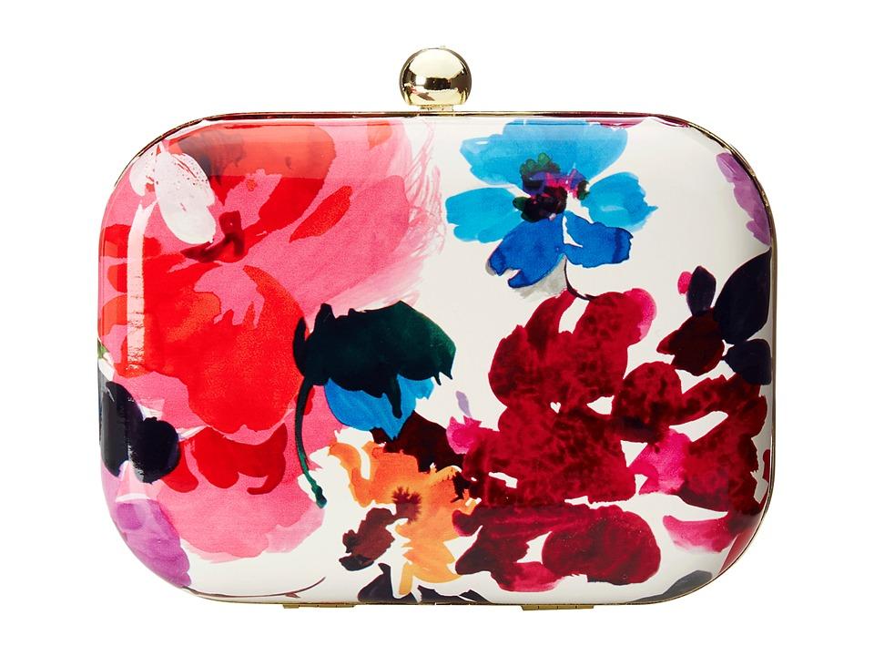 Jessica McClintock - Floral Minaudier (Floral) Handbags