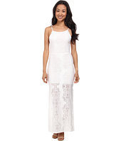 Brigitte Bailey - Daisy Crochet Backless Maxi Dress