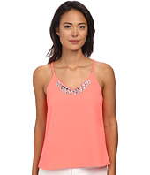 Brigitte Bailey - Jocelyn Chiffon Tank Top