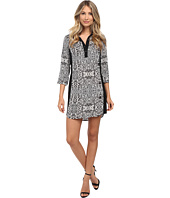 Laundry by Shelli Segal - Printed Shirt Dress
