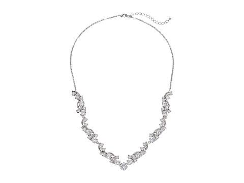 Nina Danesa Necklace - Silver/CZ