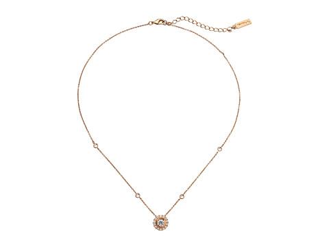 Nina Imajen Necklace - Rose Gold/CZ