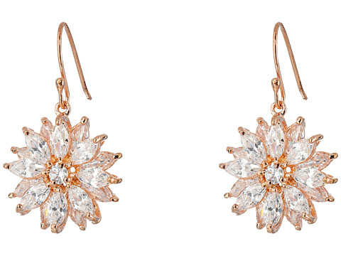 Nina Aarti Earrings - CZ/Rose Gold