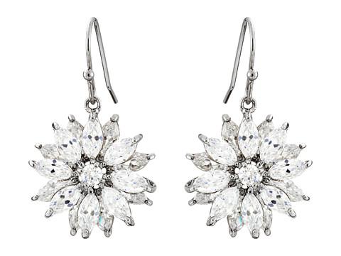 Nina Aarti Earrings - Palladium/CZ