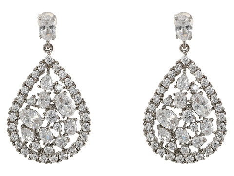 Nina Kaali Earrings - Palladium/CZ