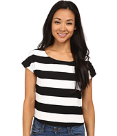 Sam Edelman - SL Stripe Crop Top