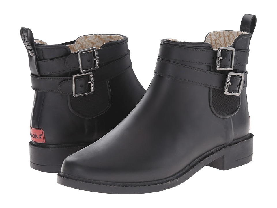 Chooka Dakota Rain Boot (Black) Women