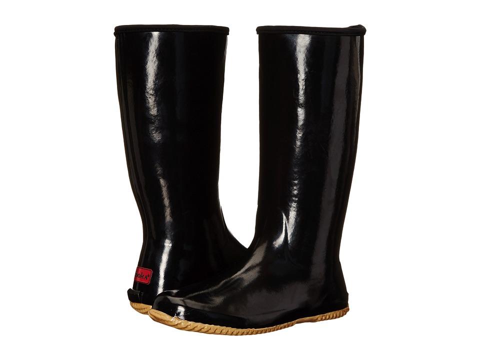 Chooka Solid Packable Rain Boot Black Womens Rain Boots