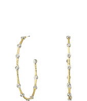 Alexis Bittar - Medium Crystal Studded Hoop Earrings