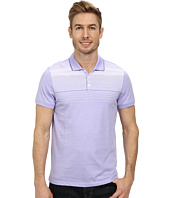 Calvin Klein - Short Sleeve Refined Jersey Engineered Stripe Polo