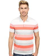 Calvin Klein - Short Sleeve Refined Jersey Auto Stripe Polo