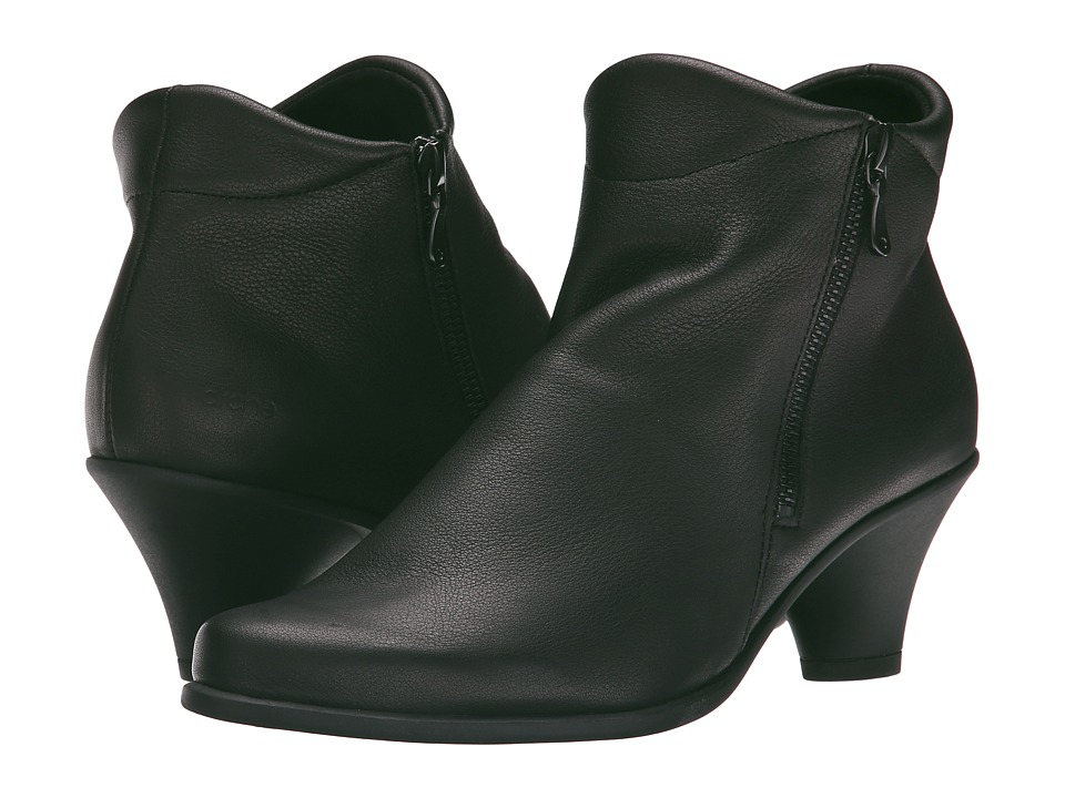 Arche Agao Noir Womens Zip Boots
