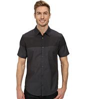 Calvin Klein - Color Block Chambray Short Sleeve Woven Shirt