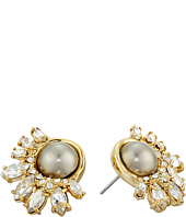 Alexis Bittar - Arrayed Marquis Accented Pearl Stud Earrings