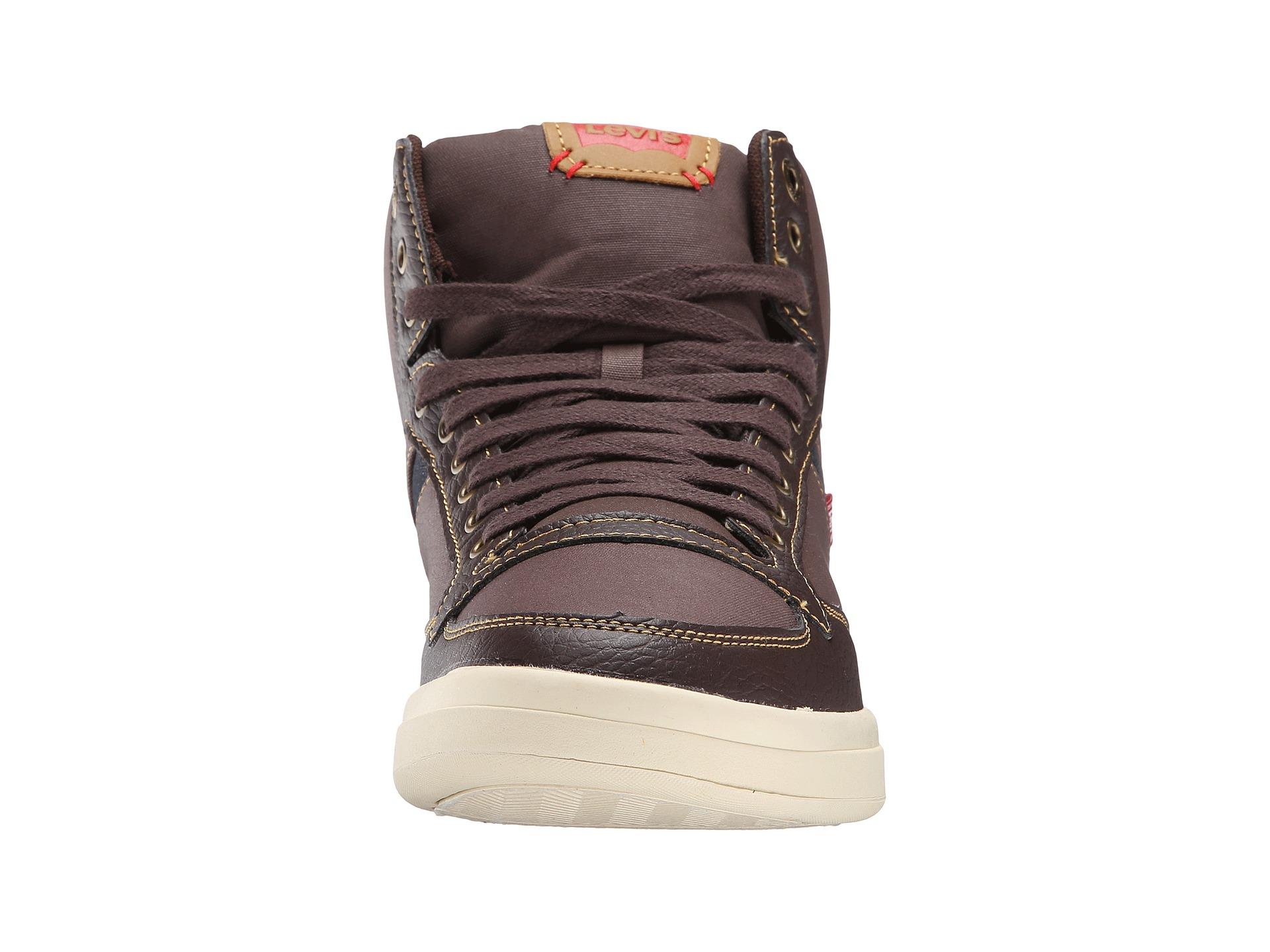 levi s 174 shoes wesley hi casual brown indigo zappos