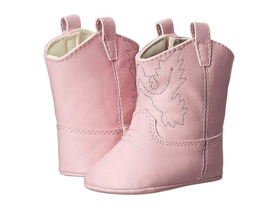 Baby Deer - Western Boot (Infant) (Pink) Girls Shoes