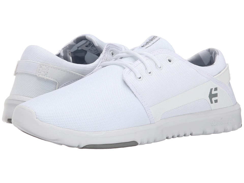 etnies Scout White/Print Mens Skate Shoes