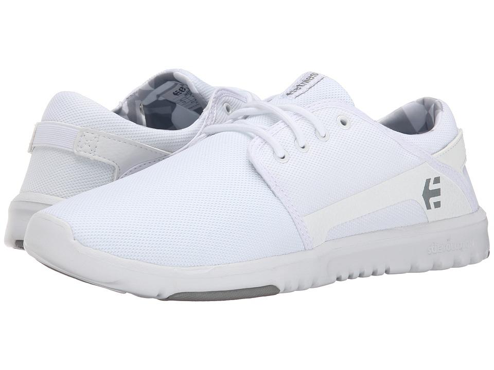 etnies Scout White/Print Mens Skate Shoes