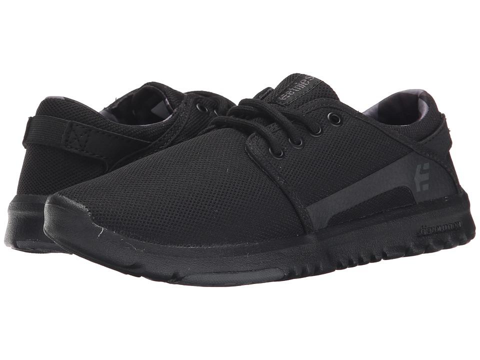 etnies Scout W Black/Grey/Black Womens Skate Shoes