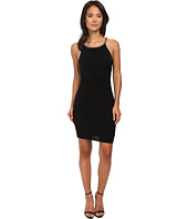 Laundry by Shelli Segal - Side Shirred Jersey Cocktail Dress w/ Jeweled Straps
